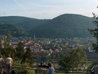 Highlight for Album: Aussicht vom Philosophenweg in Heidelberg